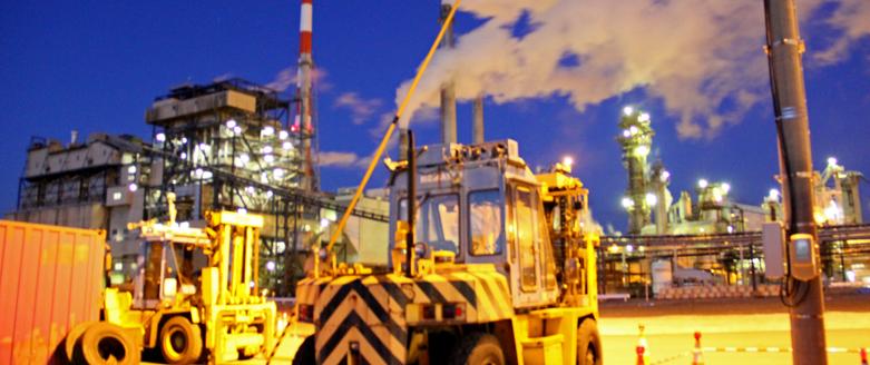 石巻市にある日本製紙の工場夜景がキレイ